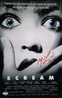 "Matthew Lillard Signed ""Scream"" 11x17 Movie Poster Inscribed ""Stu"" (PSA COA) at PristineAuction.com"