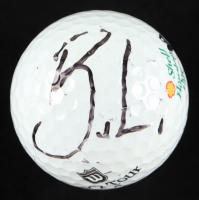 Bruce Lietze Signed Wilson Shell Houston Open Logo Golf Ball (JSA COA) at PristineAuction.com
