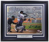 Miguel Cabrera Signed Tigers 22x27 Custom Framed Photo Display (JSA COA) at PristineAuction.com