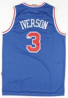 Allen Iverson Signed 76ers Jersey (PSA COA) at PristineAuction.com