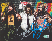Mick Foley Thrice-Signed WWE 8x10 Photo (Beckett COA) at PristineAuction.com