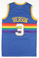 Allen Iverson Signed Nuggets Jersey (PSA COA) at PristineAuction.com