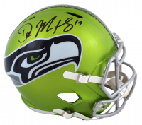 D.K. Metcalf Signed Seahawks Full-Size Flash Alternate Speed Helmet (Beckett COA) at PristineAuction.com