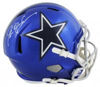 Deion Sanders Signed Cowboys Full-Size Flash Alternate Speed Helmet (Beckett COA) at PristineAuction.com
