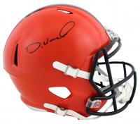 Denzel Ward Signed Browns Full-Size Speed Helmet (Beckett COA) at PristineAuction.com