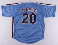 """Mike Schmidt Signed Jersey Inscribed """"HOF 95"""" (JSA Hologram) at PristineAuction.com"""