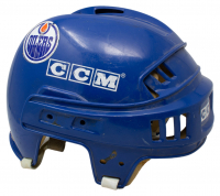 Paul Coffey Game Worn Oilers CCM Full Size Helmet at PristineAuction.com
