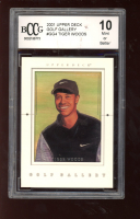 Tiger Woods 2001 Upper Deck Gallery #GG4 (BCCG 10) at PristineAuction.com