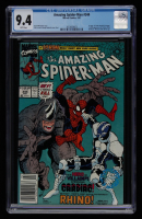 """1991 """"The Amazing Spider-Man"""" Issue #344 Marvel Comic Book (CGC 9.4) at PristineAuction.com"""
