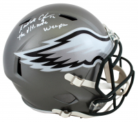 """Randall Cunningham Signed Eagles Full-Size Flash Alternate Speed Helmet Inscribed """"The Ultimate Weapon"""" (Beckett Hologram) at PristineAuction.com"""