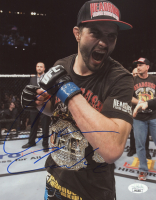 Carlos Condit Signed UFC 8x10 Photo (JSA COA) at PristineAuction.com