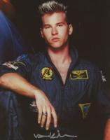 "Val Kilmer Signed ""Top Gun"" 8x10 Photo (ACOA COA) at PristineAuction.com"