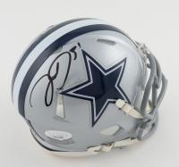 Trevon Diggs Signed Cowboys Speed Mini Helmet (JSA COA) at PristineAuction.com
