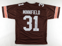 Frank Minnifield Signed Browns Jersey (JSA Hologram) at PristineAuction.com