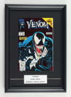"""1992 """"Venom"""" Issue #1 Marvel 12x16 Custom Framed First Issue Comic Book Display at PristineAuction.com"""