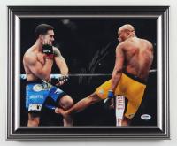 Anderson Silva Signed UFC 13x16 Custom Framed Photo (PSA COA) at PristineAuction.com