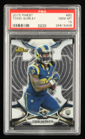 Todd Gurley 2015 Finest #85 RC (PSA 10) at PristineAuction.com