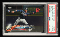 Ronald Acuna Jr. 2018 Topps Chrome Update #HMT31 RD (PSA 10) at PristineAuction.com