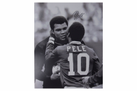 Pele Signed Team Brazil 8x10 Photo (Beckett COA) at PristineAuction.com
