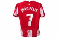 Joao Felix Signed Atletico Madrid Jersey (Beckett COA) at PristineAuction.com