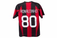 "Ronaldinho Signed AC Milan Jersey Inscribed ""Rio"" (Beckett COA) at PristineAuction.com"