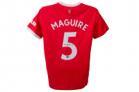 Harry Maguire Signed Manchester United Jersey (Beckett COA) at PristineAuction.com