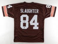 Webster Slaughter Signed Jersey (Playball Ink Hologram) at PristineAuction.com