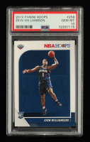 Zion Williamson 2019-20 Hoops #258 RC (PSA 10) at PristineAuction.com