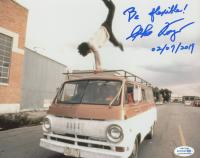 "Sho Kosugi Signed ""Revenge of the Ninja"" 8x10 Photo Inscribed ""Be Flexible!"" & ""02/07/2019"" (ACOA COA) at PristineAuction.com"