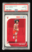 Coby White 2019-20 Hoops #204 RC (PSA 10) at PristineAuction.com