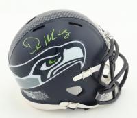 D.K. Metcalf Signed Seahawks Speed Mini Helmet (Beckett COA) at PristineAuction.com