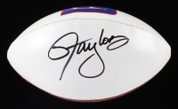 Lawrence Taylor Signed Giants Logo Football (JSA COA) at PristineAuction.com