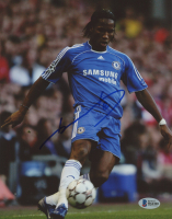 Didier Drogba Signed 8x10 Photo (Beckett COA) at PristineAuction.com