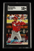 Shohei Ohtani 2018 Topps Update #US285 (SGC 10) at PristineAuction.com