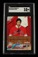 Shohei Ohtani 2018 Topps Opening Day #200 RC (SGC 10) at PristineAuction.com