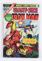 """1975 """"Iron Man: Giant Size"""" Issue #1 Marvel Comic Book at PristineAuction.com"""