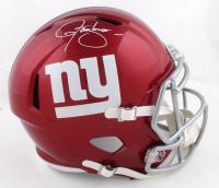 Lawrence Taylor Signed Giants Full-Size Flash Alternate Speed Helmet (JSA COA) at PristineAuction.com