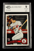 Mike Trout 2011 Topps Update #US175 RC (BCCG 9) at PristineAuction.com