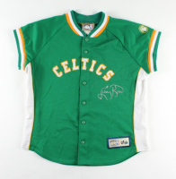 Larry Bird Signed Celtics Vintage Warm-Up Jacket (PSA COA) (See Description) at PristineAuction.com