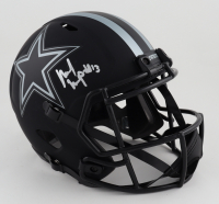 Michael Gallup Signed Cowboys Full-Size Eclipse Alternate Speed Helmet (JSA COA) (See Description) at PristineAuction.com