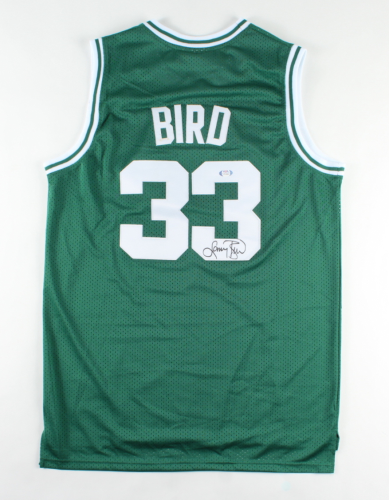 Larry Bird Signed Celtics Jersey (PSA COA) (See Description) at PristineAuction.com