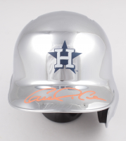 Carlos Correa Signed Astros Chrome Mini Helmet (JSA COA) at PristineAuction.com