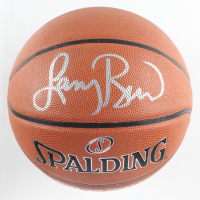 Larry Bird Signed NBA Basketball (PSA COA) at PristineAuction.com