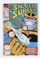 """1990 """"The Silver Surfer"""" Issue #34B Marvel Comic Book at PristineAuction.com"""