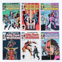 """Complete Set of (6) 1984-85 """"Kitty Pryde and Wolverine"""" Limited Series Marvel Comic Books at PristineAuction.com"""