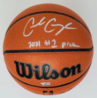 "Cade Cunningham Signed Wilson Basketball Inscribed ""2021 #1 Pick (Fanatics Hologram) at PristineAuction.com"