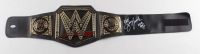 """Jerry """"The King"""" Lawler Signed WWE World Heavyweight Champion Belt Inscribed """"WWE HOF 07"""" (JSA COA) (See Description) at PristineAuction.com"""