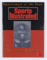 """Michael Jordan 1991 """"Sportsman of the Year"""" Sports Illustrated Magazine at PristineAuction.com"""
