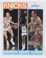 1971 Knicks Original Official Basketball Magazine at PristineAuction.com