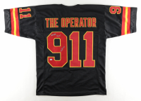 """Robert O'Neill Signed """"The Operator"""" 9/11 Tribute Jersey Inscribed """"Never Quit!"""" (PSA Hologram) at PristineAuction.com"""